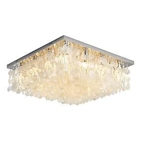 cheap Ceiling Lights & Fans-12 Bulbs QIHengZhaoMing 70 cm Chandelier Metal Shell Painted Finishes Modern 110-120V / 220-240V