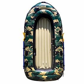 preiswerte Kanufahren-2 Personen Aufblasbares Boot-Set mit French Oars PVC Angeln Bootfahren 190*98 cm