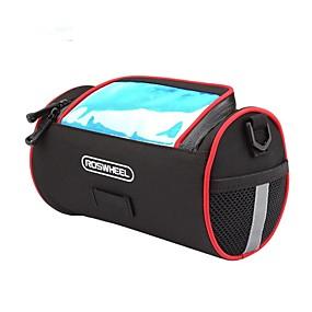 preiswerte Fahrradabdeckung-Fahrradlenkertasche 5.5 Zoll Reflexstreiffen Radsport für iPhone 8 Plus / 7 Plus / 6S Plus / 6 Plus Schwarz / 600D Polyester
