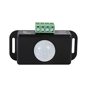 cheap Light Switches-DC 12V/24V Body Infrared PIR Motion Sensor Switch For LED Light Strip Automatic