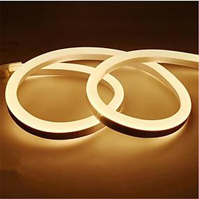preiswerte 20% Rabatt-1m 12v led streifenlicht wasserdicht led band lampe 2835 smd flexible led neon streifen led schild bord rohr seil string lichter
