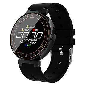 preiswerte Relógios & Acessórios-L8 Smart Watch BT 4.0 Fitness-Tracker-Unterstützung benachrichtigen & Sport-Tracker runden Bildschirm Smartwatch-kompatiblen Android & iOS-Handys