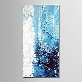 povoljno Slike za cvjetnim/biljnim motivima-Hang oslikana uljanim bojama Ručno oslikana - Sažetak Odmor Moderna Bez unutrašnje Frame / Valjani platno