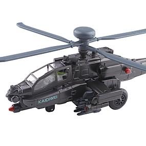 preiswerte Spielzeugflugzeuge-01.50 Spielzeug-Autos Helikopter Stadtblick Exquisit Metal Alles Jungen Mädchen 1 pcs