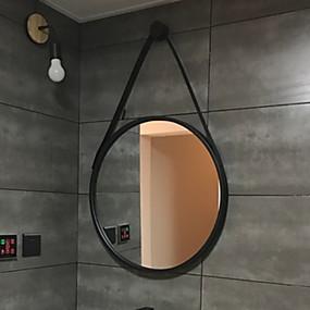 preiswerte Meist Verkaufte-Spiegel Spiegel Moderne zeitgenössische Metal 1pc - Spiegel Kosmetikspiegel / Badezimmer Dekoration
