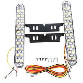 billige Spesialtilbud-2pcs Bil Elpærer 10 W SMD 5050 850 lm 30 LED Dagkjøringslys Til