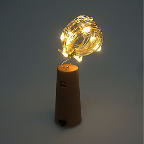 preiswerte Lampen-Brelong 1 Stück 8LED Weinflasche Kupferdraht Lampe