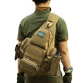preiswerte Jagdtaschen-30 L Tragetasche Militärischer taktischer Rucksack Regendicht Rasche Trocknung Verschleißfestigkeit Hohe Kapazität Außen Jagd Wandern Radsport / Fahhrad Nylon Braun Armeegrün Camouflage