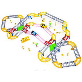 preiswerte Spielzeug Züge & Zug Sets-Spielzeug-Eisenbahnen & Eisenbahn-Sets Züge Schleppe Exquisit / Handgefertigt / Eltern-Kind-Interaktion Kunststoff und Metall / Plastikschale / PP+ABS Alles Kinder Geschenk 1 pcs