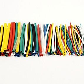 preiswerte Hauptplatine-100pcs Schrumpfschläuche Schlauch Sleeving Wrap Kabel Kabelsatz