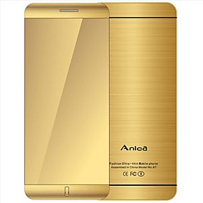 """cheap Feature Phones-Anica A7 Phone With Super Mini Ultrathin Card Luxury Bluetooth 1.63""""inch Dustproof Shockproof phone"""