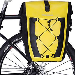 cheap Under €39-ROCKBROS 27 L Bike Pannier Bag Reflective Large Capacity Waterproof Bike Bag TPU Bicycle Bag Cycle Bag Road Bike Riding Travel / Rainproof / Waterproof Zipper