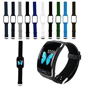 cheap Smartwatch Accessories-Watch Band for Gear S R750 Samsung Galaxy Sport Band Silicone Wrist Strap
