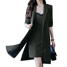 preiswerte Damenbekleidung-Damen Ausgehen Grundlegend Set - Solide U-Ausschnitt Kleid