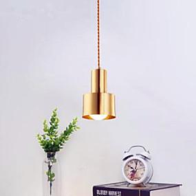 povoljno Viseća rasvjeta-industrijski Privjesak Svjetla Ambient Light Brass Metal New Design 110-120V / 220-240V Meleg fehér Bulb not included / E26 / E27
