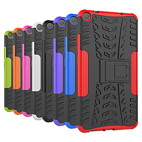 cheap Other Case-Case For Lenovo Lenovo Tab3 7 Shockproof / with Stand Back Cover Tile / Armor Hard PC