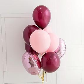 preiswerte Ballon-Ballon-Bündel Latex 9pcs Hochzeit