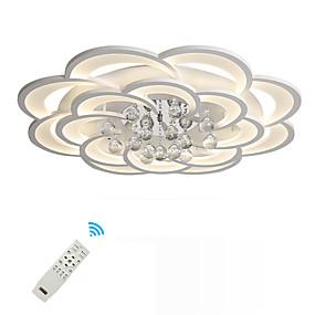 povoljno Lámpatestek-UMEI™ Geometrijski oblici / Noviteti Flush Mount Ambient Light Slikano završi Metal Acrylic Crystal, New Design 110-120V / 220-240V Meleg fehér / Bijela / Zatamnjen daljinskim upravljačem Uključen je