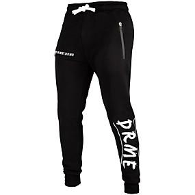 cheap Running & Jogging-Men's Jogger Pants Joggers Running Pants Streetwear Drawstring Sports Winter Pants / Trousers Sweatpants Bottoms Fitness Gym Workout Workout Anatomic Design Wearable Fashion Grey Black / Stretchy