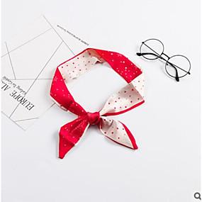 preiswerte Schal-Mikrofaser Schal / Schleifenband Damen Herbst Normal / Urlaub Rot / Blau / # Red Wine (Anti-Falten)