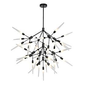 cheap Chandeliers-OBSESS® 100 cm Chandelier Metal Sputnik Painted Finishes LED / Modern 110-120V / 220-240V