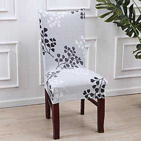 preiswerte Textilien für Zuhause-Stuhlabdeckung Mehrfarbig Reaktivdruck Polyester Überzüge