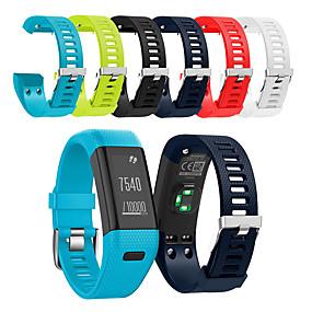 cheap Smartwatch Bands-Watch Band for Vivosmart HR+(Plus) Garmin Sport Band Silicone Wrist Strap