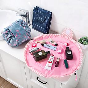 preiswerte Dekoration für Zuhause-Tier Flamingo Kosmetiktasche professionelle Kordelzug Make-up Fall Frauen Reise Make-up Veranstalter Aufbewahrungstasche Kulturwäsche