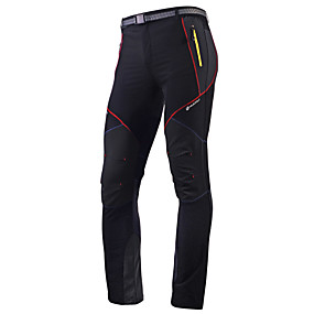 cheap Under €39-Nuckily Men's Cycling Pants Polyester Bike Pants / Trousers Tights Pants Waterproof Breathable Quick Dry Sports Black Mountain Bike MTB Road Bike Cycling Clothing Apparel Advanced Relaxed Fit Bike