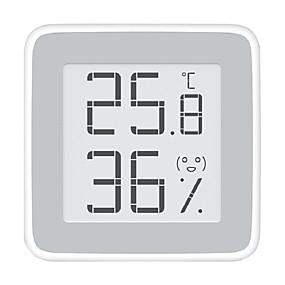 cheap Health Detective-Xiaomi  Miaomiaoce MMC - C201 E-ink Screen Thermometer - WHITE