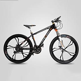 preiswerte Cycling Clearance-Geländerad Radsport 27 Geschwindigkeit 26 Zoll / 700CC SHIMANO M370 Öl - Scheibenbremse Federgabel Monocoque - Rahmen gewöhnlich Aluminiumlegierung / #