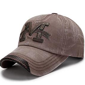 preiswerte Chapéu Cata Ovo/Bucket Hat-Herrn Grundlegend,Polyester Baseball Kappe Druck Armeegrün Braun Marineblau