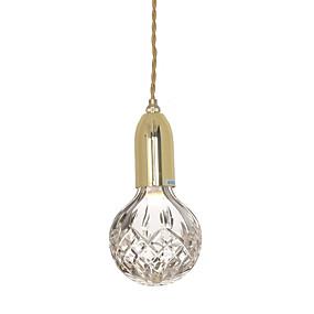 povoljno Stropna svjetla i ventilatori-Ecolight™ Privjesak Svjetla Bronze Electroplated Metal Glass Mini Style, Prilagodljiv, New Design 110-120V / 220-240V Meleg fehér / Hladno bijela Uključen je LED izvor svjetlosti / G9 / FCC