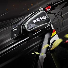 preiswerte Fahrradrahmentaschen-Handy-Tasche Fahrradrahmentasche 6.2 Zoll Touchscreen Wasserdicht Reflexstreiffen Radsport für iPhone 8 Plus / 7 Plus / 6S Plus / 6 Plus iPhone X Rote Schwarz Blau Rennrad Geländerad