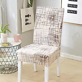 preiswerte Home decor-Stuhlabdeckung Mehrfarbig Reaktivdruck Polyester Überzüge