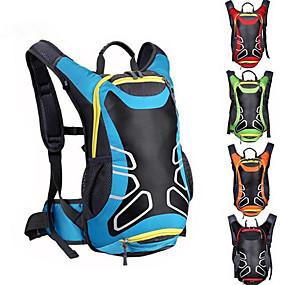 preiswerte Trinkrucksäcke & Wasserblasen-16 L Radfahren Rucksack Reflektierend Wasserdicht Fahrradtasche Nylon Tasche für das Rad Fahrradtasche Radsport Wandern Basketball Fahhrad