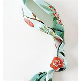 preiswerte Schal-Seide Schal / Schleifenband Damen Alltag Weiß / Grün / Rosa