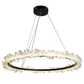 povoljno Lámpatestek-OBSESS® Kristal Lusteri Ambient Light Slikano završi Metal Crystal 110-120V / 220-240V Meleg fehér Uključen je LED izvor svjetlosti / Integrirano LED svjetlo / FCC