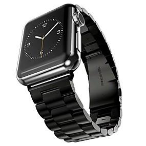 preiswerte Smart Watch Band-Edelstahl Uhrenarmband Gurt für Apple Watch Series 4/3/2/1 Schwarz / Silber / Gold 23cm / 9 Zoll 2.1cm / 0.83 Inch