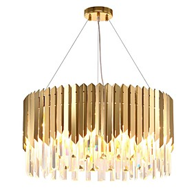 povoljno Stropna svjetla i ventilatori-QIHengZhaoMing 4-Light Lusteri Ambient Light Electroplated Metal 110-120V / 220-240V Meleg fehér