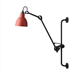 preiswerte Schwenkarm-Lampen-QINGMING® Ministil Retro / Traditionell-Klassisch Schwingen Arm Lichter Wohnzimmer / Schlafzimmer / Shops / Cafés Metall Wandleuchte 110-120V / 220-240V 40 W