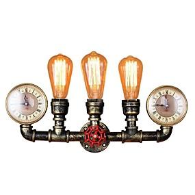 preiswerte Vintage Barbeleuchtung-Antike / Retro / Vintage Wandlampen Wohnzimmer / Esszimmer Metall Wandleuchte 110-120V / 220-240V 60 W
