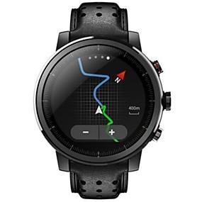 preiswerte Ideias Para Aproveitar o Tempo Livre-Xiaomi AMAZFIT 2S Smartwatch Android iOS Bluetooth Wasserfest GPS Herzschlagmonitor Sport Langes Standby Schrittzähler Anruferinnerung Schlaf-Tracker Wecker Chronograph / 512MB / Kamera / 100-120