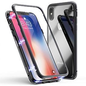 preiswerte Cooho-Hülle Für Apple iPhone X / iPhone 8 Plus / iPhone 8 Stoßresistent / Staubdicht / Transparent Rückseite Solide Hart Gehärtetes Glas / PC