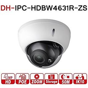 preiswerte Dahua® IP-Kameras-dahua® ipc-hdbw4631r-zs 6mp ip kamera cctv poe motorisierter zoom 2,7-13,5mm 50m ir sd kartensteckplatz netzwerkkamera h.265 ik10 ip67 varifocal 5x optischer zoom überwachung sicherheit