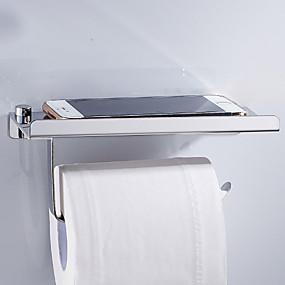 povoljno Držači za toaletni papir-Držač toaletnog papira New Design / Cool Moderna Tikovina 1pc Zidne slavine