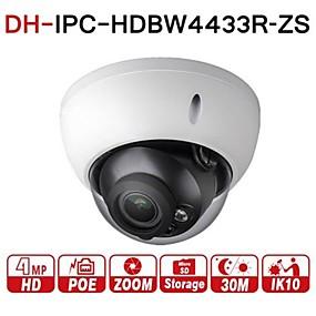 preiswerte Dahua® IP-Kameras-Dahua 4MP Gleitsichtgerät IP-Überwachungskamera IPC-HDBW4433R-ZS 2,7 mm ~ 13,5 mm Objektiv motorisiert 5-fach optischer Zoom Outdoor Indoor Videoüberwachung Kamera Dome IR 50 m