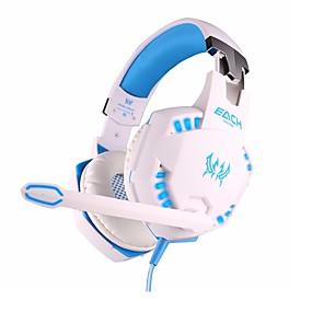 levne Hraní her-KOTION EACH G2100 Herní sluchátka Kabel Hraní her s mikrofonem S ovládáním hlasitosti