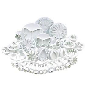 preiswerte Küche & Haushalt-33 Kunststoff Multi-Funktion Niedlich 3D Zeichentrick Kuchen Plätzchen Multifunktion Plätzchen-Ausstechform Backwerkzeuge