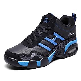 levne Větší obuv-Dámské Atletické boty Komfortní boty Rovná podrážka Syntetický sportovní / Na běžné nošení Běh Podzim Černobílá / Černočervená / černá / modrá